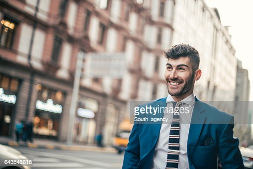 Gentleman with lovely smile