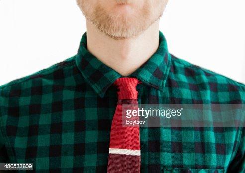 Gentleman with tie : Stock Photo