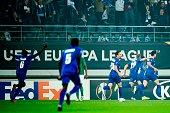 BEL: KAA Gent v AS Saint-Etienne: Group I - UEFA Europa League