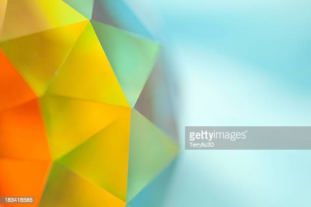 Geodesic Crystal Prismatic Sphere with Spectrum of Color
