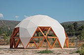 Public geodesic dome in Ontinyent, Spain