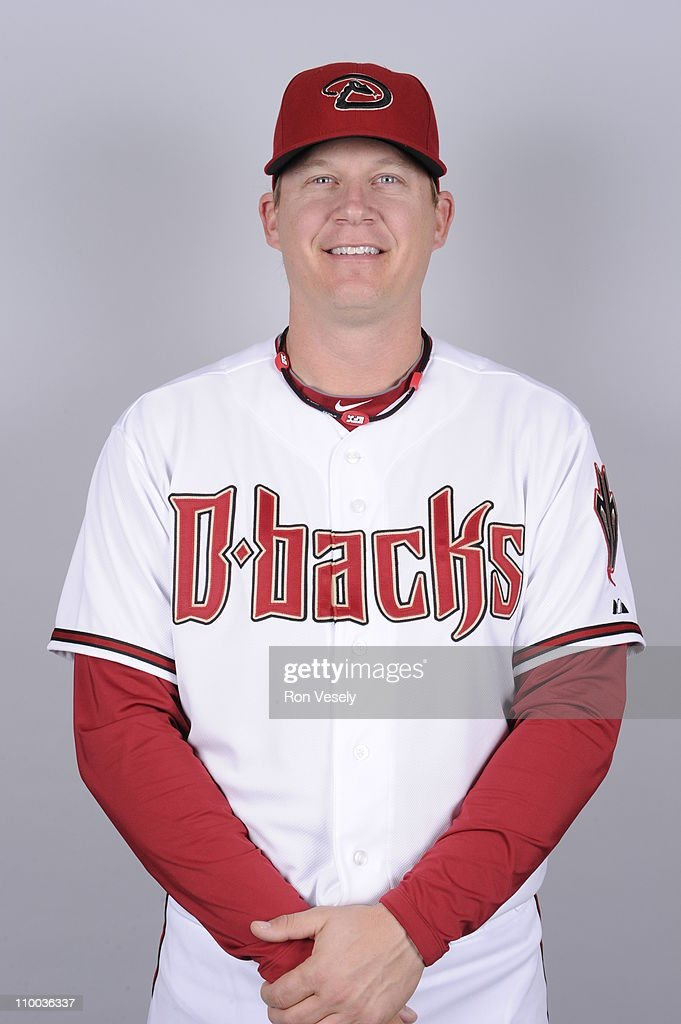Geoff Blum of the Arizona Diamondbacks poses during Photo Day on Monday, February 21, 2011 at Salt River Fields at Talking Stick in Scottsdale, Arizona.