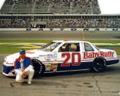 Geoff Bodine's ride for the Goody's 300 was this Baby Ruth sponsored Buick Bodine did not start the race however