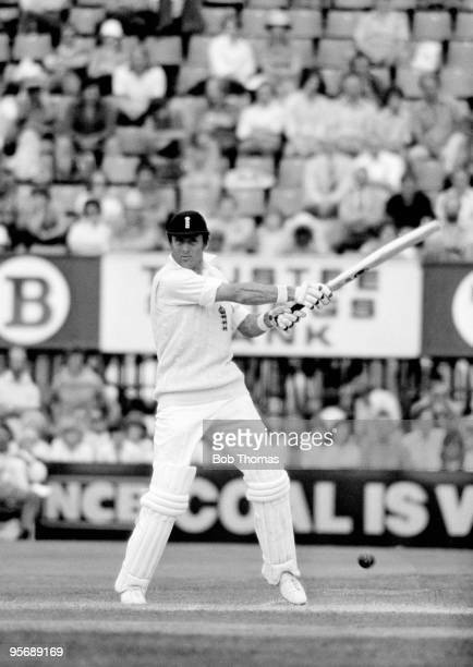 Geoff Boycott batting for England during the 3rd Test match between England and Australia at Trent Bridge in Nottingham 28th July 1977 England won by...