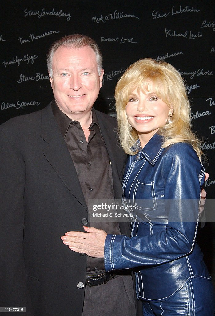 Geoff brown and partner loni anderson during the smothers brothers