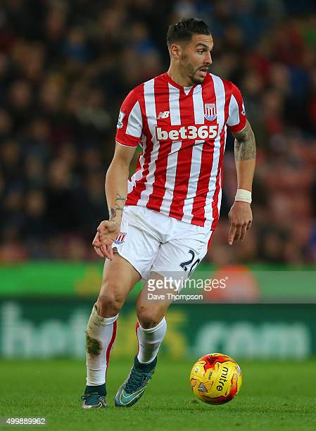 Geoff Cameron of Stoke City during the Capital One Cup match between Stoke City and Sheffield Wednesday at the Britannia Stadium on December 1 2015...