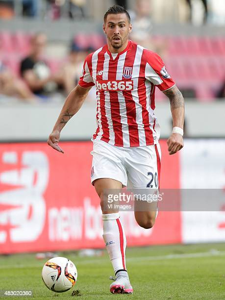 Geoff Cameron of Stoke City during the Colonia Cup match between FC Porto and Stoke City on August 2 2015 at the RheinEnergieStadion in Koln Germany