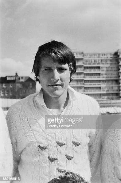 Geoff Greenidge of the Sussex County Cricket Club UK 28th April 1971