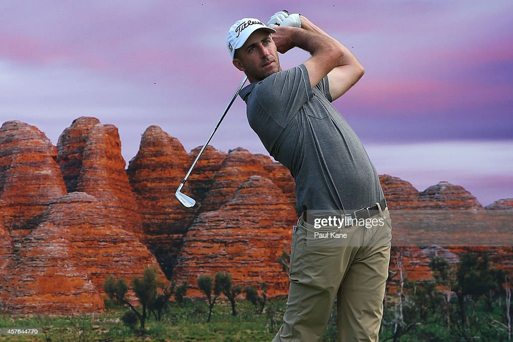 <a gi-track='captionPersonalityLinkClicked' href=/galleries/search?phrase=Geoff+Ogilvy&family=editorial&specificpeople=224652 ng-click='$event.stopPropagation()'>Geoff Ogilvy</a> of Australia watches his tee shot on the 17th hole during the 2014 Perth International Pro-Am at Lake Karrinyup Country Club on October 22, 2014 in Perth, Australia.