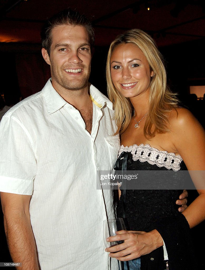 Geoff Stults and Stacy Keibler during 'Just Like Heaven' Los Angeles Premiere After Party in Los Angeles California United States
