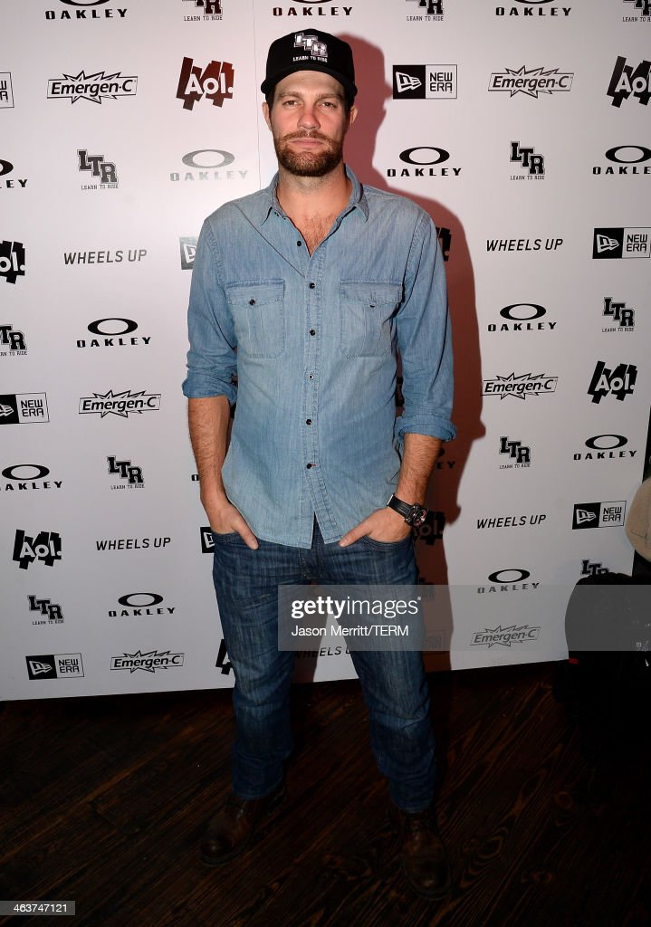 Geoff Stults attends Day 2 of Oakley Learn To Ride With AOL At Sundance on January 18, 2014 in Park City, Utah.