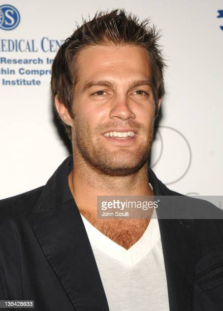 Geoff Stults during Fred Segal and the CedarsSinai Medical Center Women's Cancer Research Institute Host 'Design A Cure' Arrivals at Private Estate...