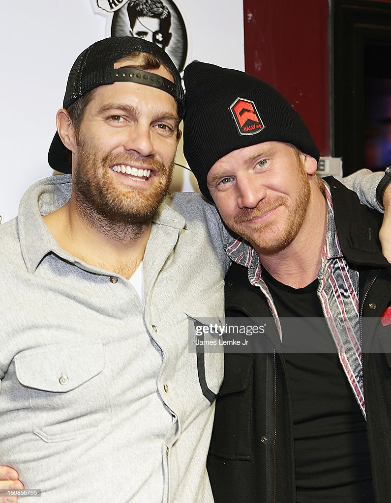 Geoff Stultz and Dash Mihok attend the Rally.org At Rock And Reilly's Day 3 on January 20, 2013 in Park City, Utah.