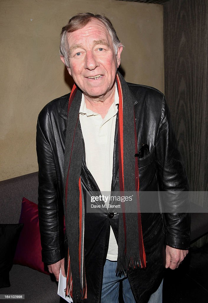 Geoffrey Freshwater attends an after party following the press night performance of The Old Vic's 'The Winslow Boy' at Baltic Restaurant on March 19, 2013 in London, England.
