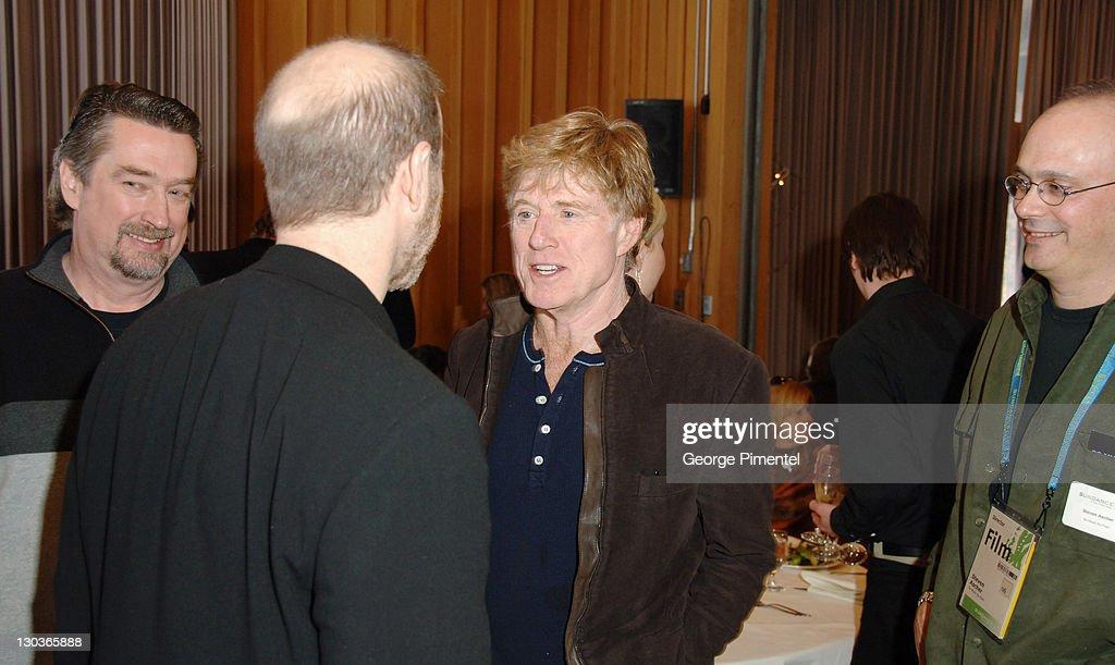 Geoffrey Gilmore, Alan Berliner, director of 'Wide Awake', Robert Redford and Steven Ascher, director of 'So Much So Fast'