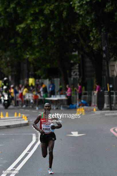 Geoffrey Kipkorir KIRUI Kenya during marathon in London on August 6 2017 at the 2017 IAAF World Championships athletics