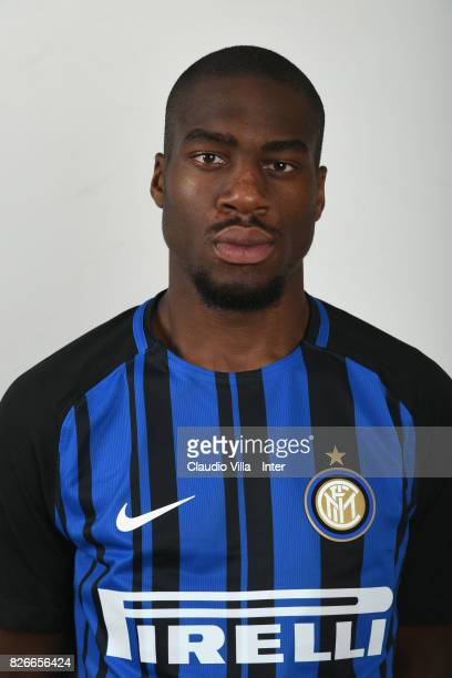 Geoffrey Kondogbia of FC Internazionale poses on July 7 2017 in Reischach near Bruneck Italy