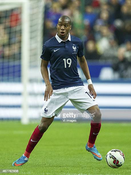 Geoffrey Kondogbia of France during the International friendly match between France and Brazil on March 26 2015 at Stade France in Paris France