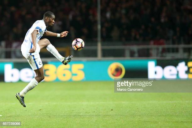 Geoffrey Kondogbia of Internazionale Fc in action during the Serie A match between FC Torino and FC Internazionale Final result is 22