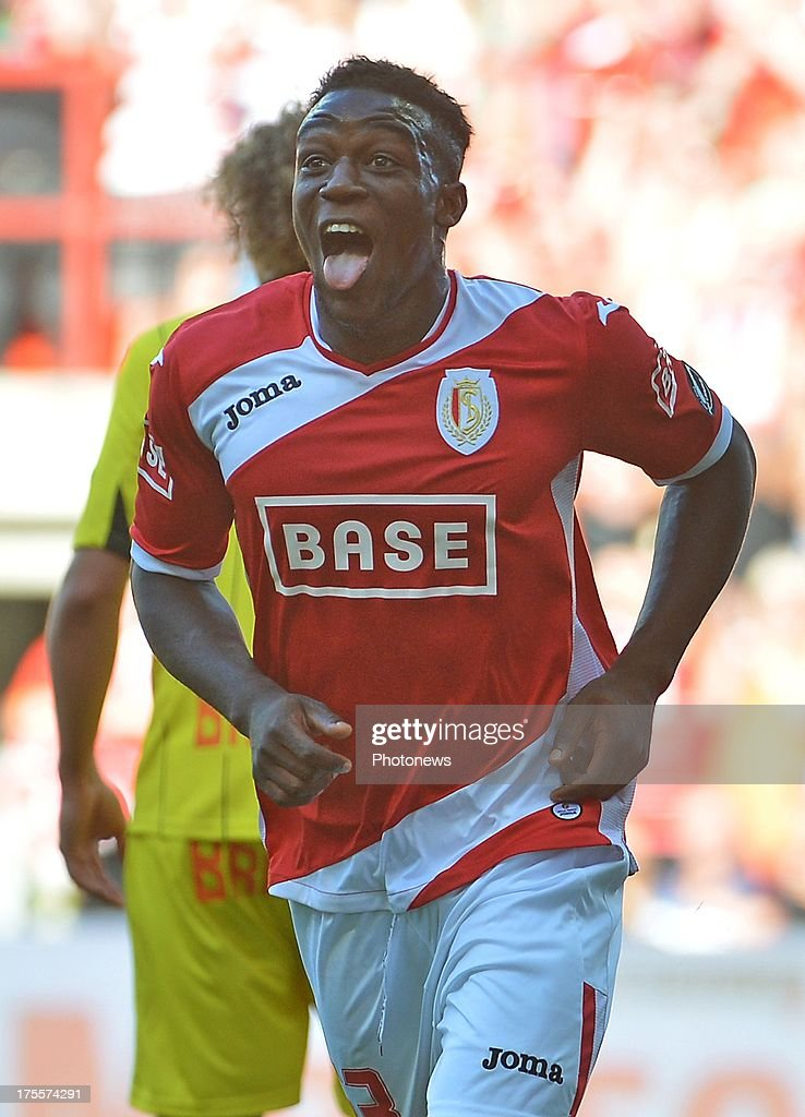 Geoffrey Mujangi Bia of Standard Liege during the Jupiler League match between Standard Liege and SK Lierse on Augustus 4, 2013 in Liege, Belgium. (Photo by Vincent Kalut & Jimmy Bolcina / Photonews