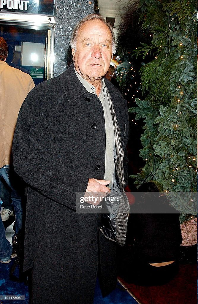 Geoffrey Palmer, Peter Pan The Movie, Premiere At The Empire, Leicester Square, London
