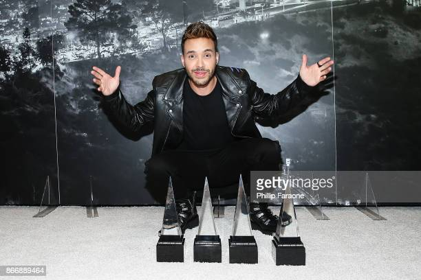 Geoffrey Royce Rojas aka Prince Royce attends the 2017 Latin American Music Awards Press Room at Dolby Theatre on October 26 2017 in Hollywood...