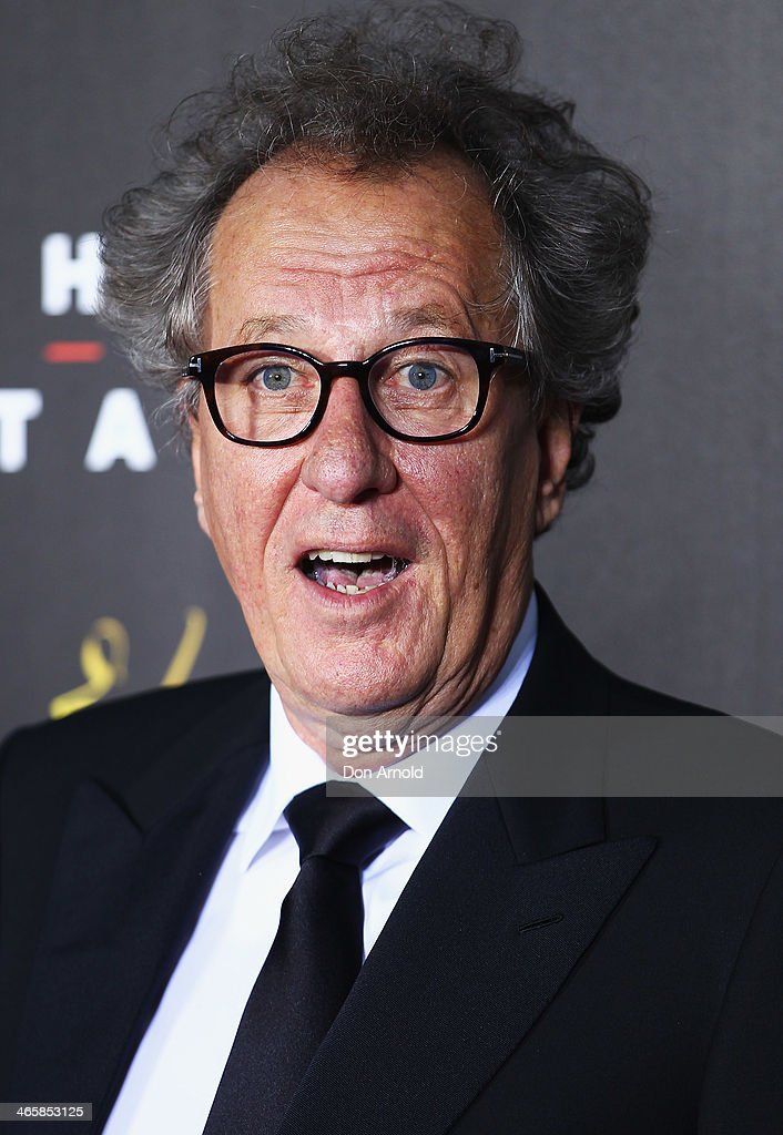 Geoffrey Rush arrives at the 3rd Annual AACTA Awards Ceremony at The Star on January 30, 2014 in Sydney, Australia.