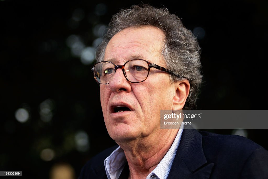 <a gi-track='captionPersonalityLinkClicked' href=/galleries/search?phrase=Geoffrey+Rush&family=editorial&specificpeople=201849 ng-click='$event.stopPropagation()'>Geoffrey Rush</a> arrives at the Tropfest 2012 short film festival at The Royal Botanic Gardens on February 19, 2012 in Sydney, Australia.