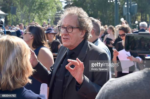 PARIS MAY 14 Geoffrey Rush attends the European Premiere to celebrate the release of Disney's 'Pirates of the Caribbean Salazar's Revenge' at...