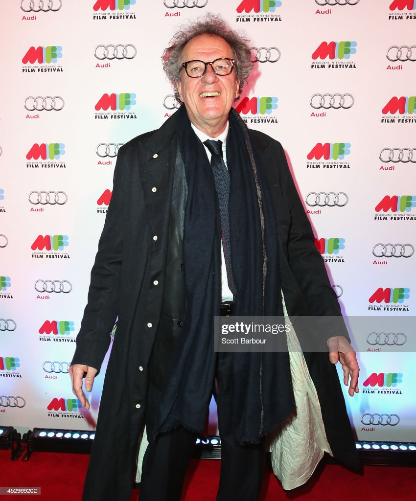 <a gi-track='captionPersonalityLinkClicked' href=/galleries/search?phrase=Geoffrey+Rush&family=editorial&specificpeople=201849 ng-click='$event.stopPropagation()'>Geoffrey Rush</a> attends the opening night of the 63rd Melbourne International Film Festival at Hamer Hall on July 31, 2014 in Melbourne, Australia.