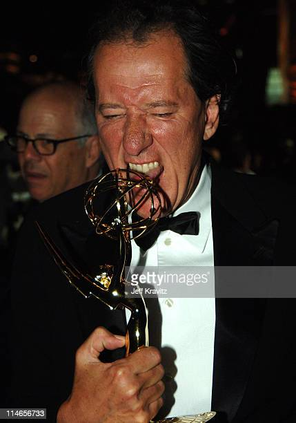 Geoffrey Rush during 57th Annual Primetime Emmy Awards Governors Ball at The Shrine in Los Angeles California United States