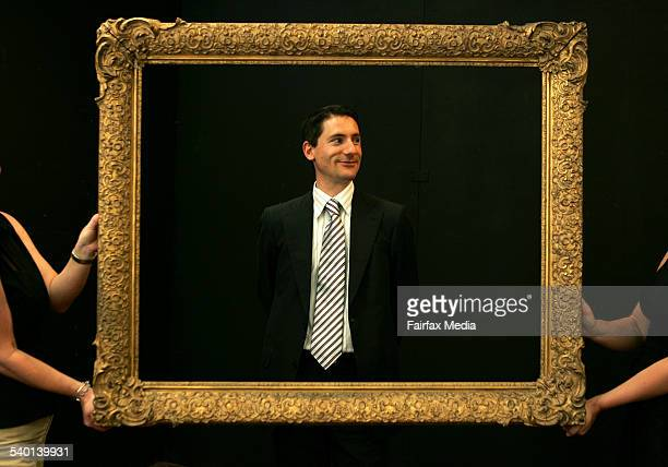Geoffrey Smith the new National Curator of Art for Bonhams Goodman Art Auction House in Double Bay Sydney 13 October 2006 AFR Picture by TAMARA...
