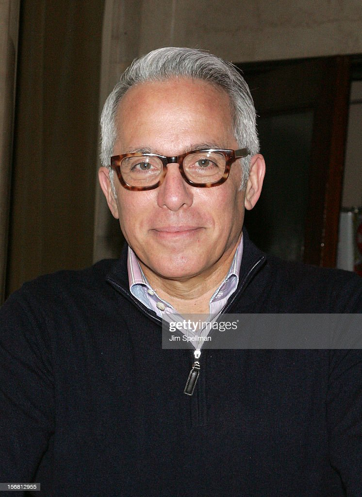 Geoffrey Zakarian attends Our Table Is Yours - A Thanksgiving Dinner Benefit at Cipriani Wall Street on November 21, 2012 in New York City.