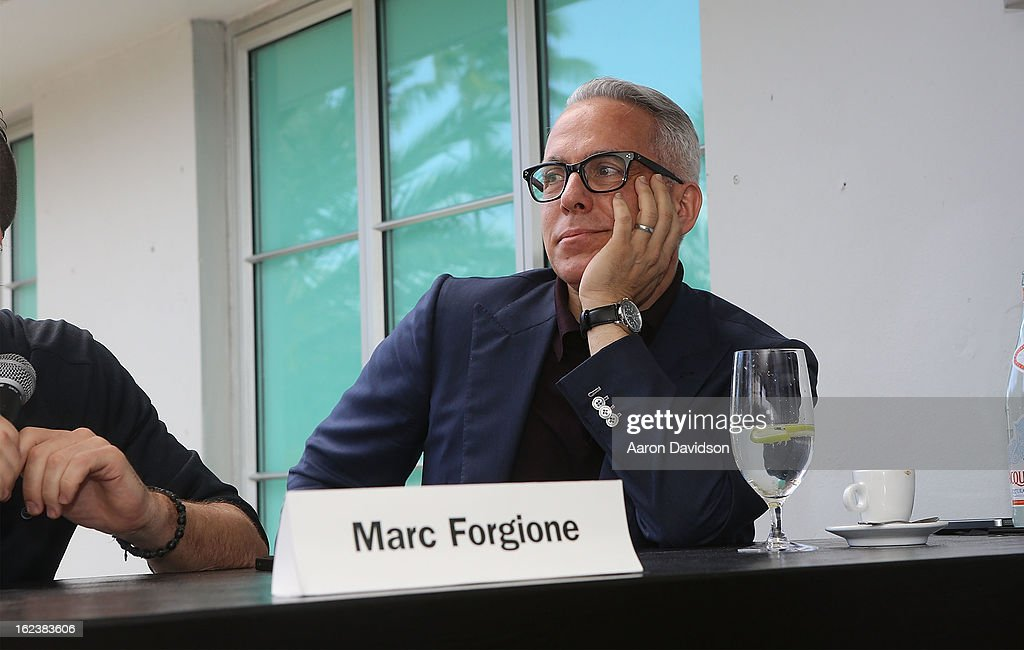 Geoffrey Zakarian attends What It Takes To Be An Iron Chef at Hotel Victor on February 22, 2013 in Miami Beach, Florida.