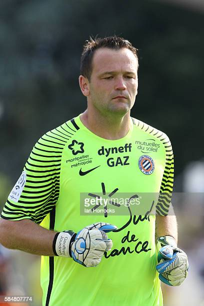 Geofrey Jourdren of Montpellier during the preseason friendly match between Sunderland AFC and Montpellier HSC at Stade Jacques Forestier on July 30...