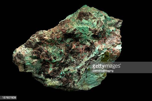 Geologia Minning de minério de Cobre