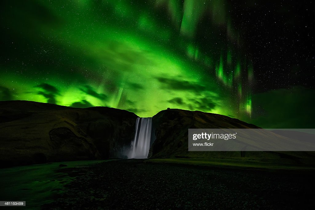 Geomagnetic Storm Level 8, (view on Hd Resolution) : Stock Photo
