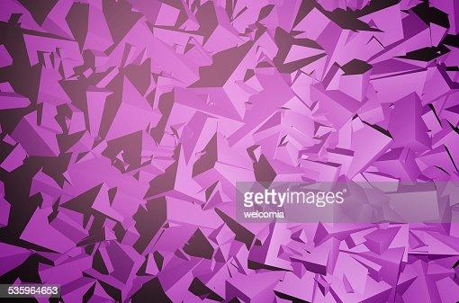 Geometric 3D Background : Stock Photo