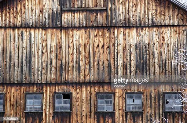 Geometric Barn facade