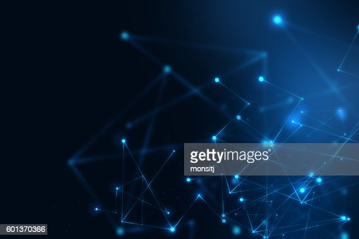geometric fragment abstract technology background : Stock Photo