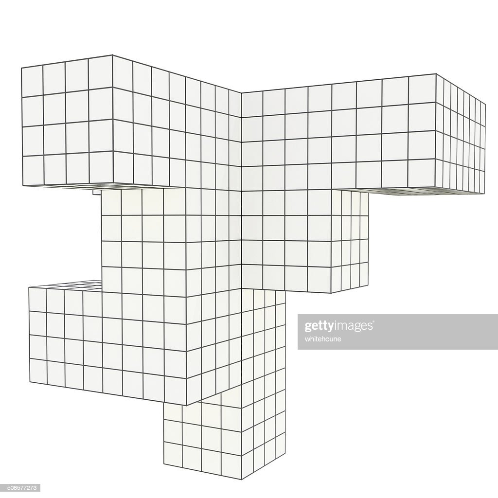 geometrical object : Stockfoto