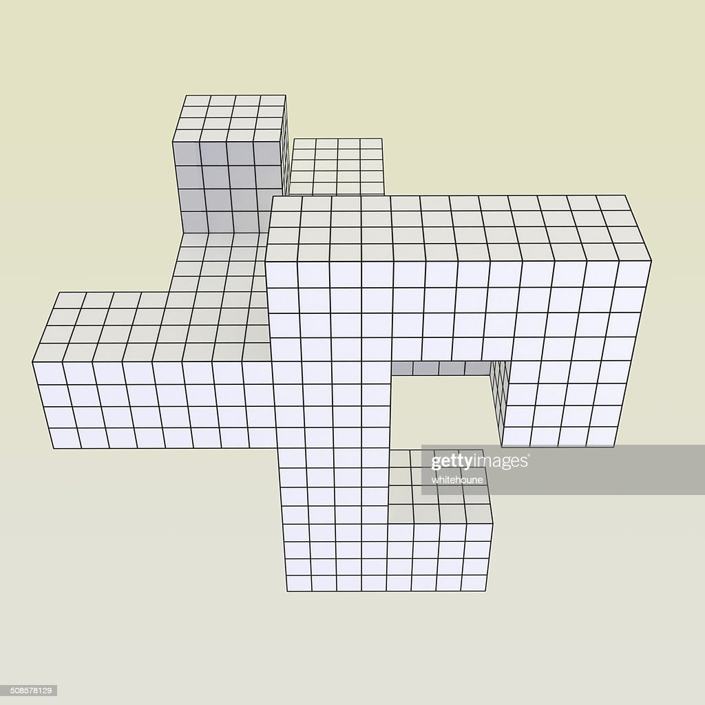 geometrical object : Stock Photo