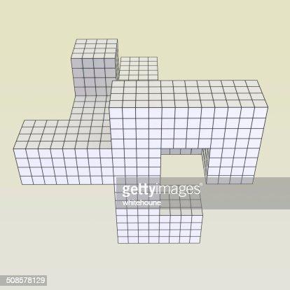geometrical object : Stock Photo