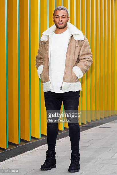 Geordie Shore cast member Nathan Henry attends the launch of Series 13 at MTV London on October 24 2016 in London England