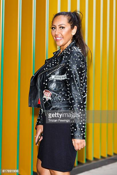 Geordie Shore cast member Sophie Kasaei attends the launch of Series 13 at MTV London on October 24 2016 in London England