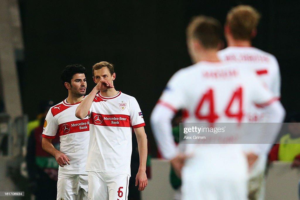 VfB Stuttgart v KRC Genk - UEFA Europa League Round of 32