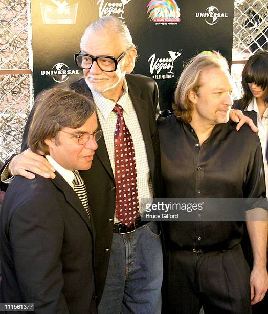 George A Romero and Guests during CineVegas Film Festival 2005 'Land of The Dead' World Premiere at Brenden Theatres in Las Vegas Nevada