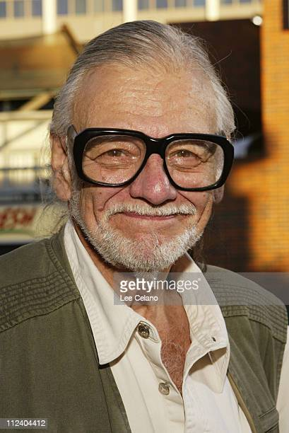 George A Romero director during 'Land of the Dead' Los Angeles Premiere Red Carpet at Mann National Theatre in Westwood California United States