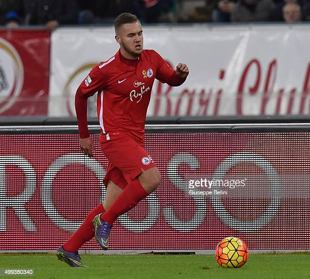 George Alexandru Puscas of AS Bari in action during a tornemnt between FC Internazionale AC Milan and AS Bari at Stadio San Nicola on November 24...