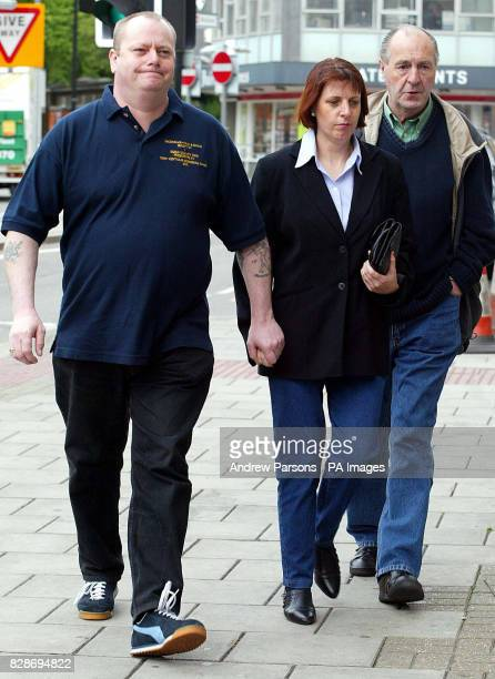 George and Carol Clowes from Daggenham arrive at Chelmsford Shirehall for the inquest into the death of their nineyearold son Tony Clowes who died...